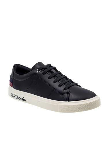 U.S. Polo Assn. Scott Wt 9Pr Kadın Sneaker Ayakkabı Siyah